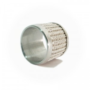 "Strickring ""New Jersey"", Silber, ab 140€"
