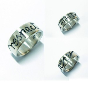 "Ring ""respect"" Silber"
